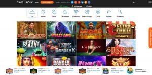 играть онлайн в казино х